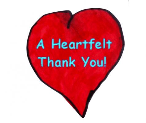 how to show heartfelt thanks